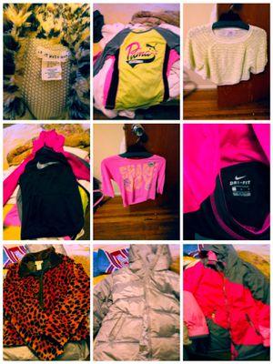 Girls coats and tops 10/12 medium for Sale in Cincinnati, OH