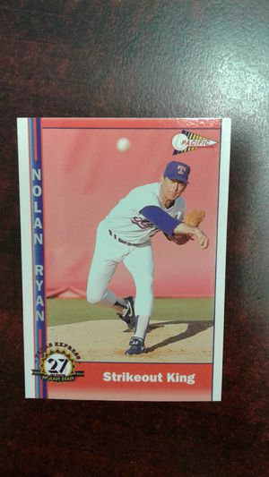 Nolan Ryan Baseball Cards [make offer] for Sale in Stockton, CA
