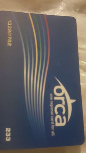 Unlimited Orca Card!!! for Sale in Fall City, WA