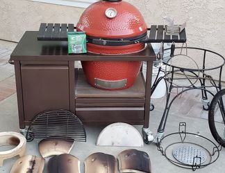 Kamado Joe Classic 1 With Rolling Cart for Sale in Mission Viejo,  CA