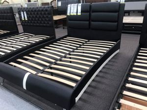Bed frame with mattress for Sale in Riverside, CA