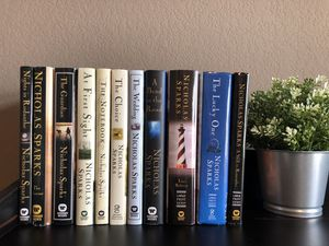 11 Nicholas Sparks books (all hardcover) for Sale in Midlothian, TX