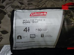 Coleman Willow pass II dome tent for Sale in Kissimmee, FL