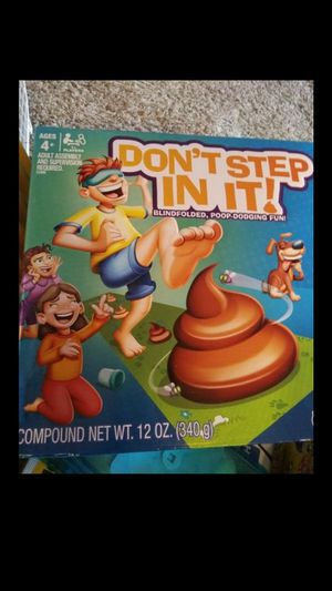 Dont step in it game ( play doh) for Sale in Costa Mesa, CA