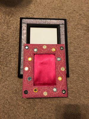 Picture frame collection in pink and purple for Sale in Bethesda, MD