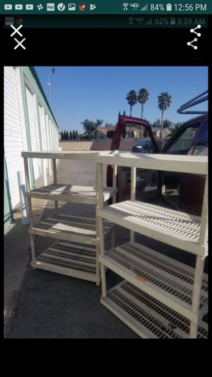 2 storage shelf units both for $40 for Sale in Tracy, CA
