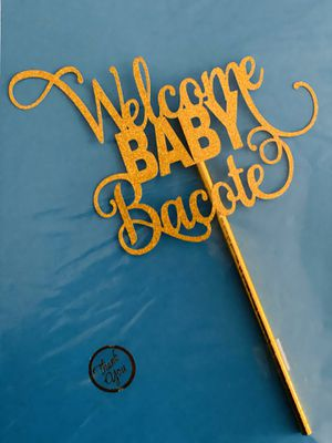 Welcome Baby Cake Topper for Sale in Richardson, TX