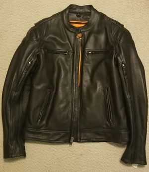 Medium Milwaukee Leather Motorcycle Jacket for Sale in Chicago, IL