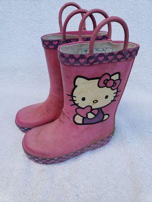 Rain boots kids size 7/8 for Sale in Auburn, WA