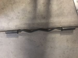 Olympic Curl Bar for Sale in Laveen Village, AZ