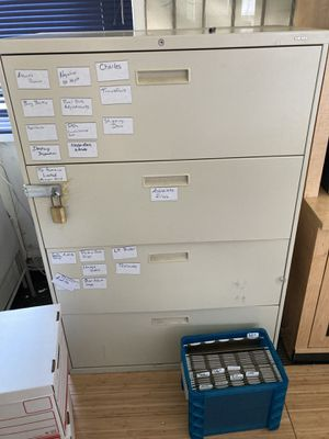 Filing cabinet for Sale in Bostonia, CA