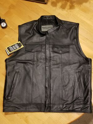 Motorcycle leather vest for Sale in Cooper City, FL