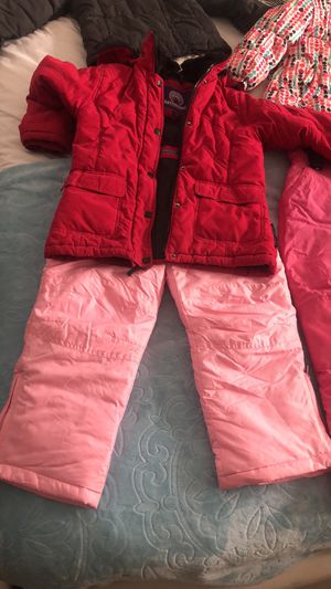 Snow bibs jackets boots any size for kids and adults for Sale in Jacksonville, FL