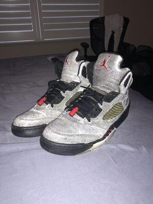 "0b7aa54bffa9af Jordan 5 ""Raging Bull"" Black Size 12 Used Very Good for Sale in"