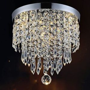 Ceiling Mount 2 Bulb Crystal Ball Chandelier Entryway Kitchen Hallway Bathroom for Sale in Winchester, CA