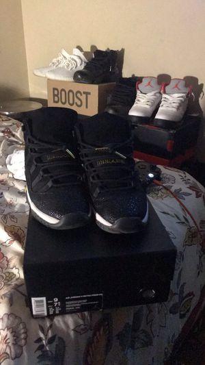 Jordan 11 Retro Heiress Black Stingray (GS) for Sale in Boston, MA