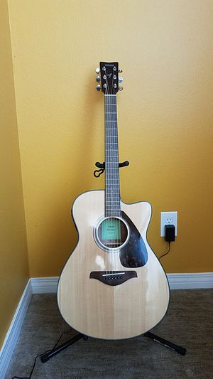 Yamaha FSX800C Acoustic Electric Guitar for Sale in Carlsbad, CA