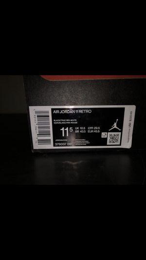 Jordan 11 bred for Sale in Lancaster, CA