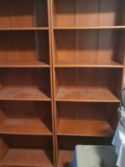 2 Bookshelves Cherry Wood for Sale in Puyallup,  WA
