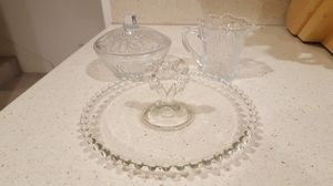 GLASS SERVING DISHES for Sale in Escondido, CA