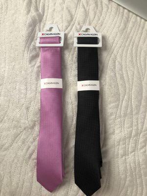 Calvin Klein Ties/ Black-Purple for Sale in Coral Gables, FL