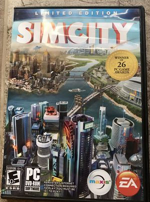 SimCity Limited Edition PC for Sale in Phoenix, AZ