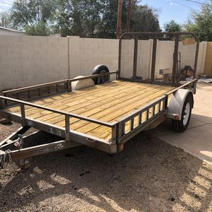 7'x12' Utility Trailer for Sale in Mesa, AZ