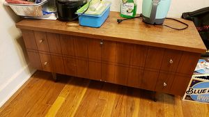 Wood TV stand for Sale in Pittsburgh, PA