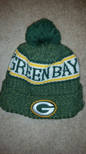 Packers Winter Hat for Sale, used for sale  Chicago, IL