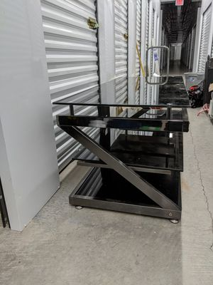 Glass TV stand for Sale in Mesa, AZ