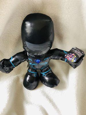 Kids/Children's Power Rangers Movie Small Plush - Black Power Ranger *Brand New* for Sale in Lawrenceville, GA