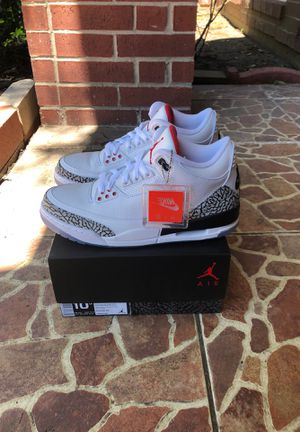 Free throw line air jordan 3 size 10.5 ds for Sale in Missouri City, TX