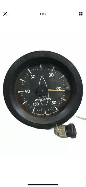 Signet Scientific MK24 Sailboat Boat Marine Analog Wind Point Direction Display for Sale in Irvine, CA