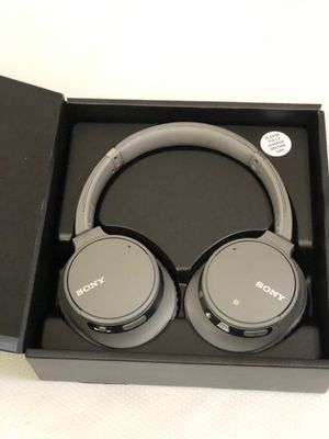 Sony - WH-CH700N Noise Canceling Wireless Over-the-Ear Headphones - Grey for Sale in Garland, TX