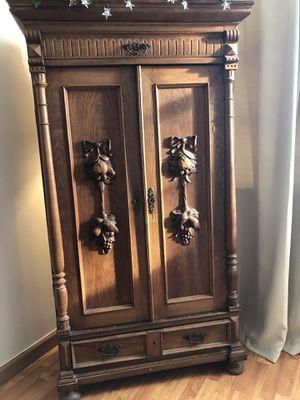 1920 antique armoire for Sale in Miami Beach, FL