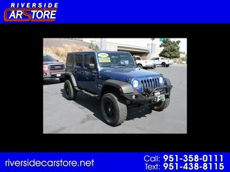 2009 Jeep Wrangler Unlimited for Sale in Riverside,  CA
