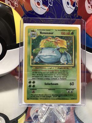 Base Set Venusaur Pokemon Card for Sale in Orlando, FL