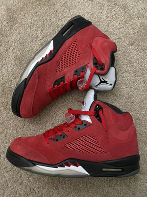 Air Jordan 5 'Red Suede' Size 10.5 for Sale in Fremont, CA