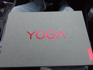 YOGA brand new lap top 265gb touch screen ,talks and turns into a tablet original price is $650 for Sale in Modesto, CA