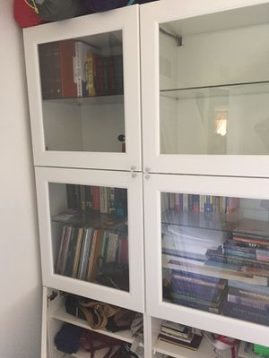 Bookcase/library - beautiful with tons of storage for Sale in San Diego, CA