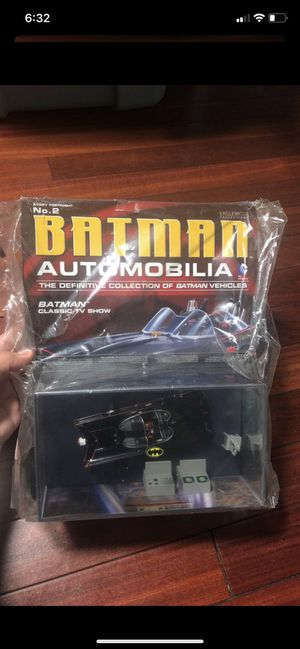 Batman automobilia no.2 with eaglemoss magazine for Sale in Hayward, CA