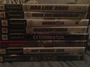 Old ps2 games $50 for all of them for Sale in Alexandria, VA