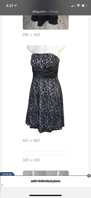 New White House Black Market black lace dress for Sale in Houston, TX