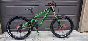 Kona Operator Carbon Fiber Downhill Bike for Sale in Santa Fe Springs, CA