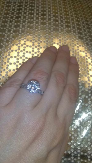 2.30 carat platinum diamond ring for Sale in Atlanta, GA