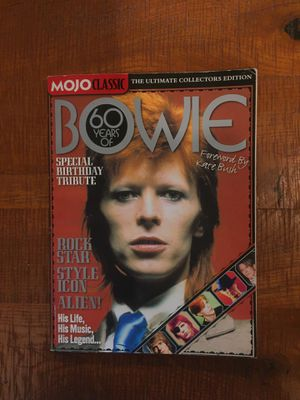 Mojo Classic Sixty years of David Bowie Magazine for Sale in Neptune City, NJ