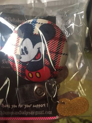 Mickey Mouse id Badge Holder new for Sale in Bakersfield, CA
