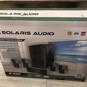 Solaris Audio S-550 Home Theater System for Sale in McKinney, TX