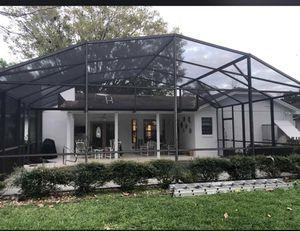 Rescreen pool enclosure for Sale in BVL, FL
