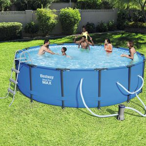 Bestway Steel Pro Max 14 ft x 42 in Pool Set for Sale in Piscataway, NJ